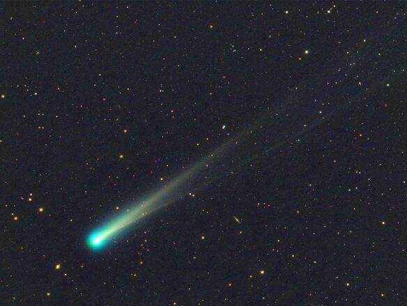 Imagen del cometa ISON 12 Noviembre 2013