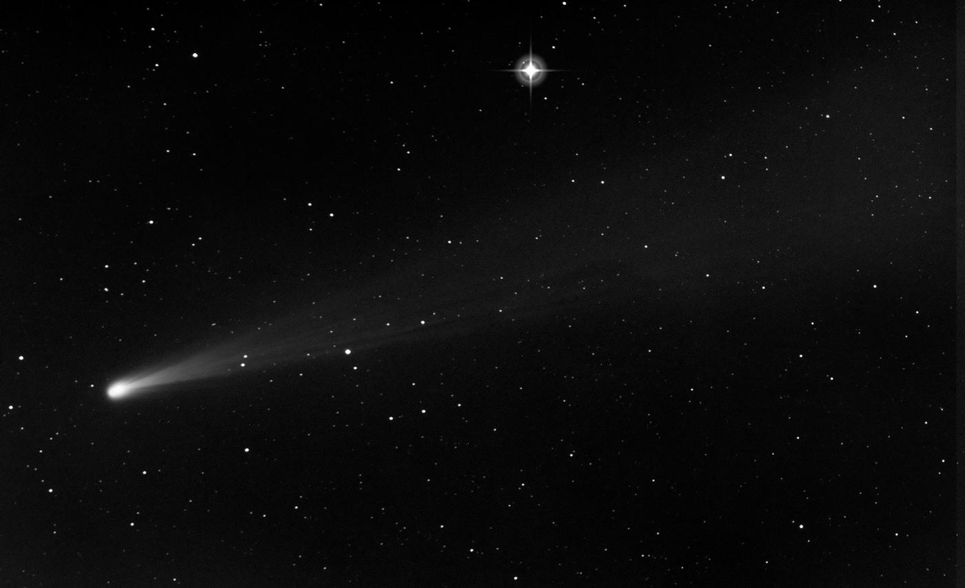 Imagen del cometa ISON 19 Nov desde australia