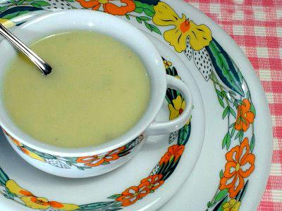 Crema de Hinojo - Sopa de Hinojo