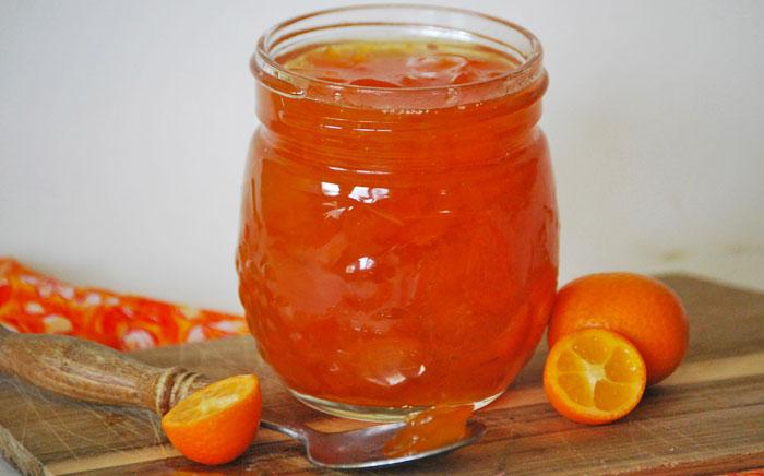 Cómo hacer kumquats en almíbar