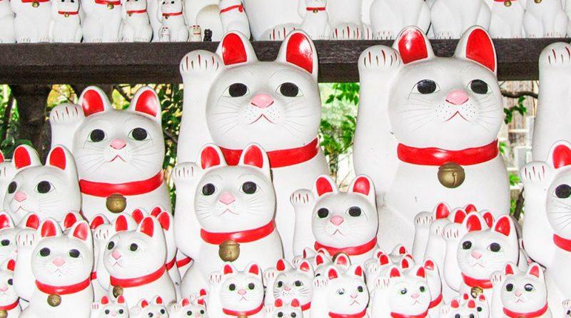 Maneki neko, el gato de la suerte