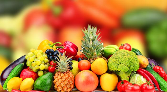 Beneficios de comer frutas y vegetales de diferentes colores