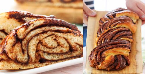pan de nutella trenzado