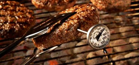 Cuales son las temperaturas de coccion para las carnes