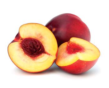Las nectarinas son mas preocupantes debido a que un 99% de la muestra tenía residuos de pesticidas.