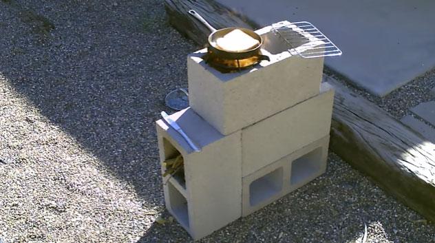 Como Cocinar Sin Gas Ni Electricidad Con Esta Estufa Cohete Fácil De Hacer Cubiro Com