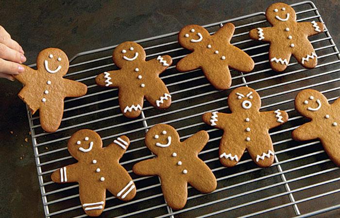galletas de navidad hombrecitos de jengibre