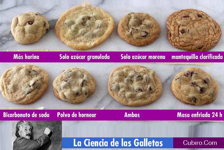 Las galletas perfectas con la ayuda de la Ciencia