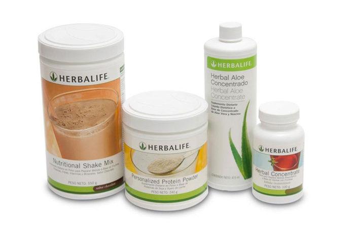 Herbalife un alimento completo que cabe en dos cucharadas