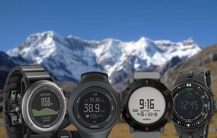 Los mejores relojes para excursionistas y mochileros 2017