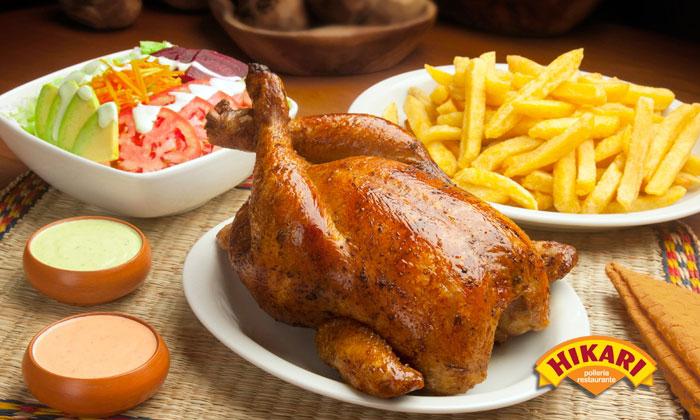 Hikari pollos asados