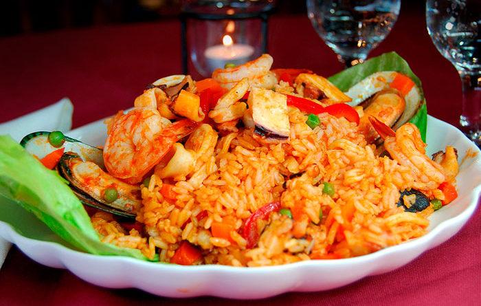 Cómo hacer arroz con mariscos