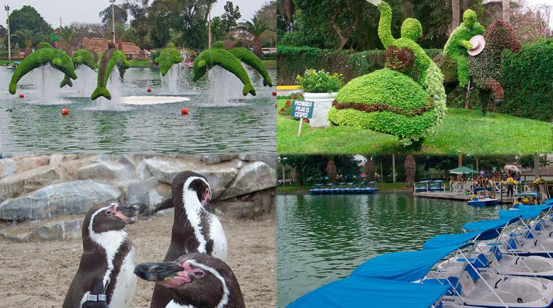 Parque de Las Leyendas in Lima