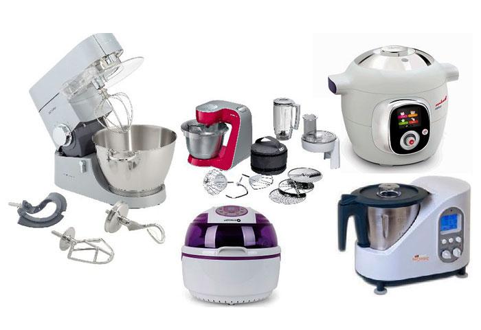 Los mejores robots de cocina dise os arquitect nicos for Robot de cocina fussioncook