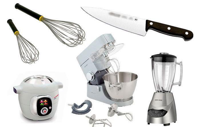 Los utensilios más importantes de cocina