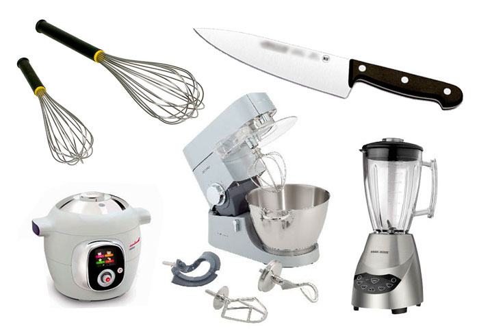 Los utensilios m s importantes de cocina chef cubiro for Utensilios de cocina basicos