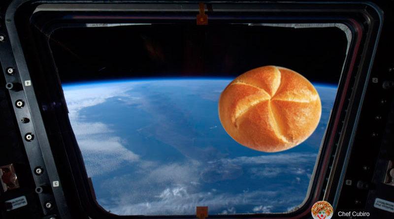 Hacer pan en el espacio, buscando el pan sin migajas