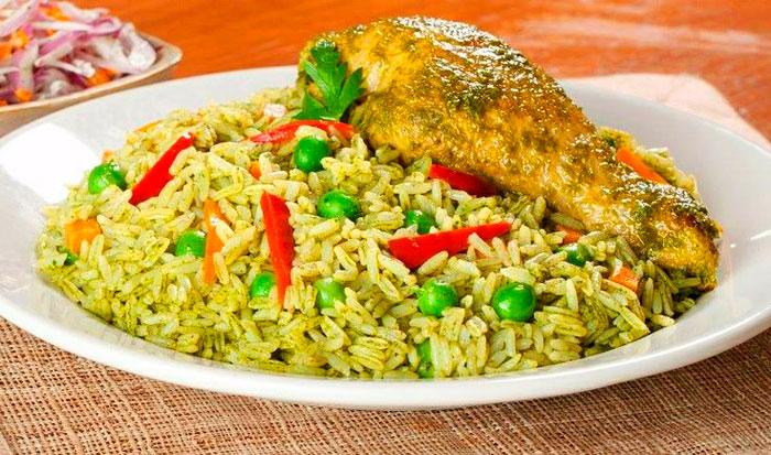 Cómo preparar arroz con pollo