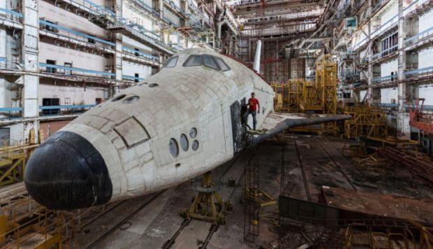 Naves espaciales abandonadas en Baikonur