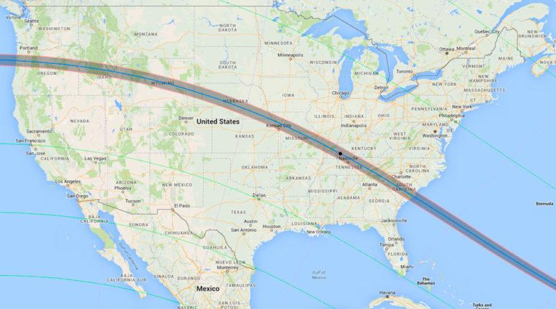 Los diez mejores lugares para ver el Eclipse del Sol USA 2017