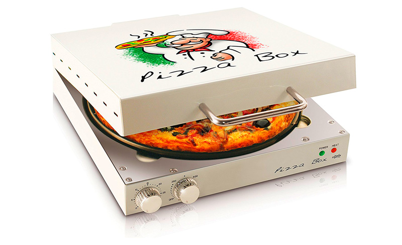 "Genial horno para pizza Pizza Box 12"""