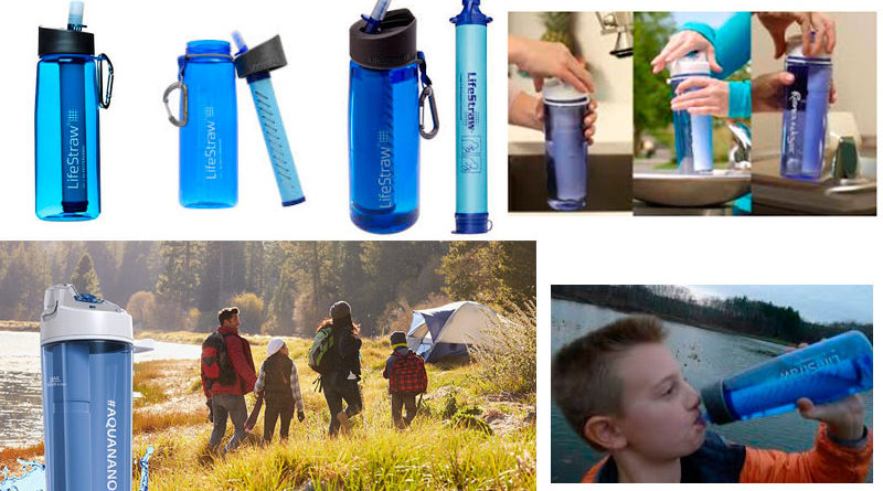 Los mejores filtros purificadores de agua portátiles 2018