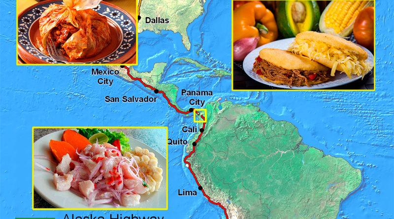 La Gastronomía en la Ruta Panamericana