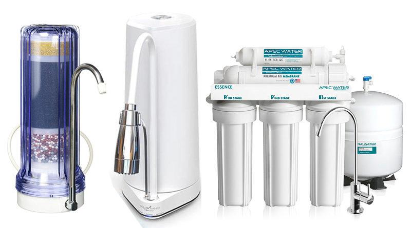 Los mejores filtros de agua 2018