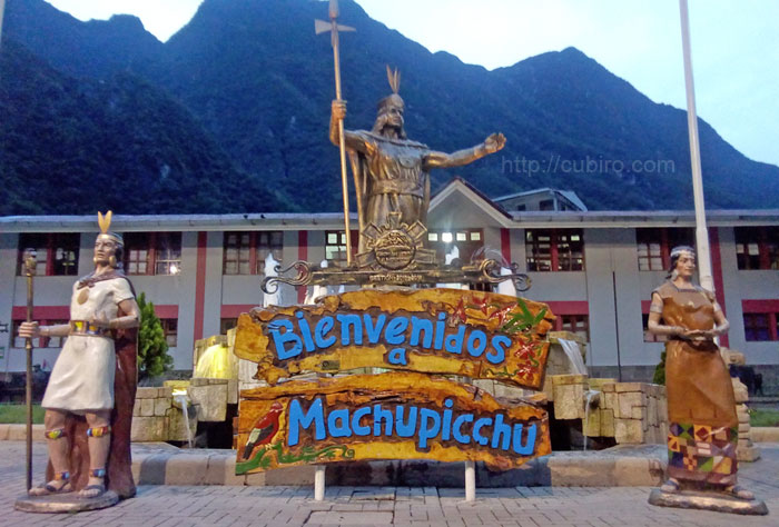 Bienvenidos a Machu Picchu