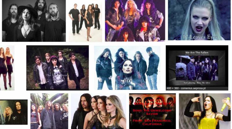 Las mejores bandas de metal con voz femenina dentro del género Rock/Heavy.