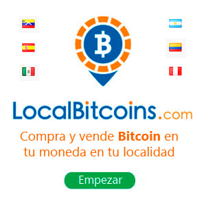 Comprar y vender Bitcoin en tu moneda