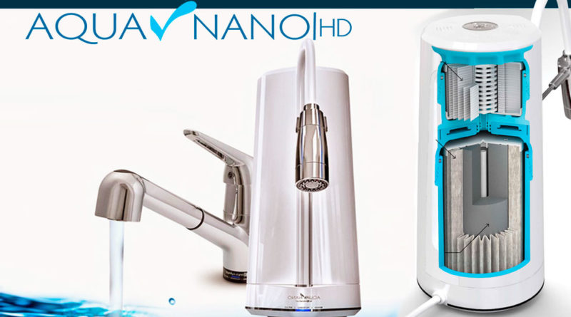 Aqua nano, el filtro purificador de agua de última generación