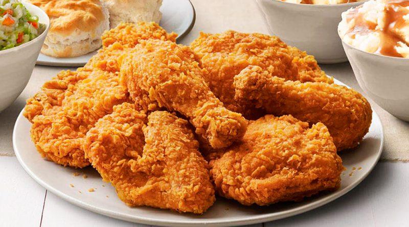 Cómo hacer pollo frito a la Kentucky