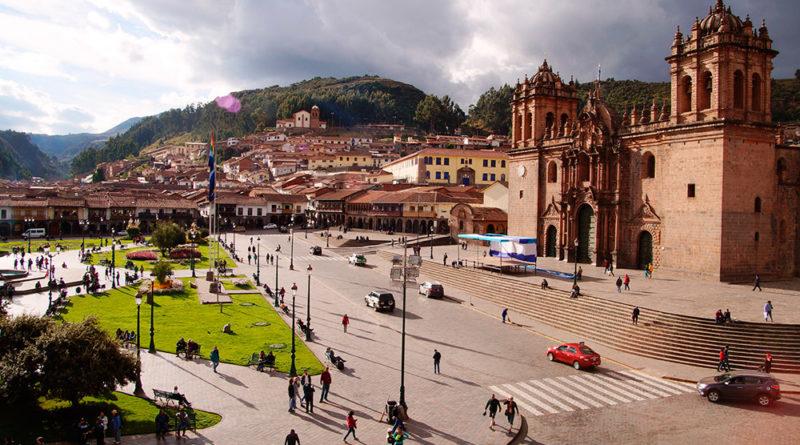 Mapa de hoteles en Cusco