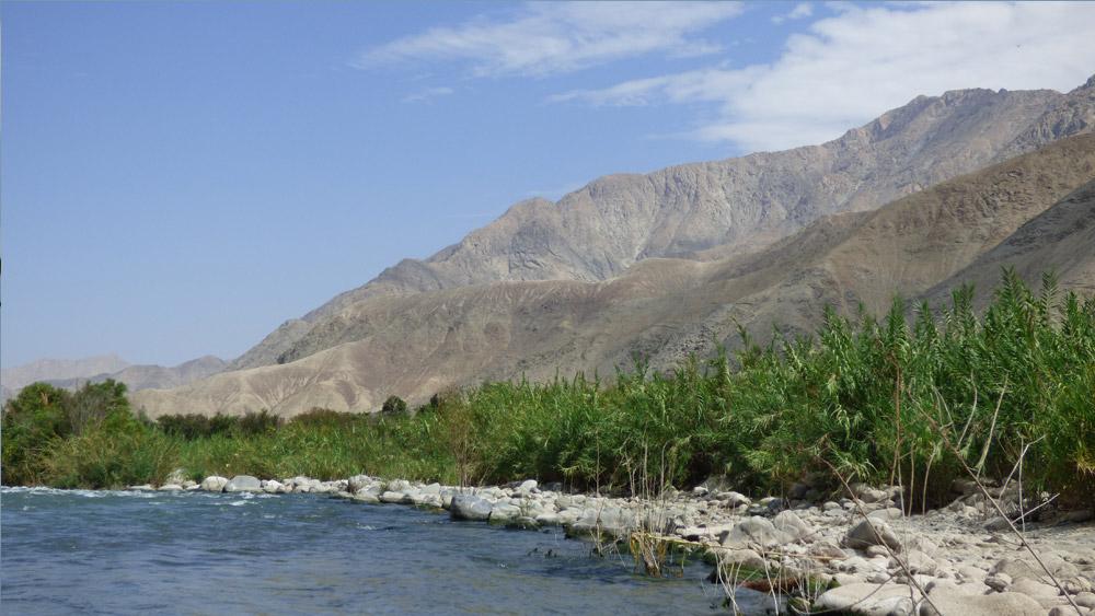 Río Cañete.