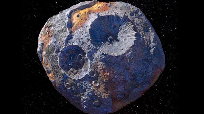 asteroide cargado de oro y metales preciosos