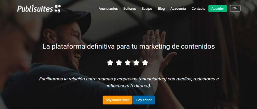 ganar dinero con mi blog con publisuites