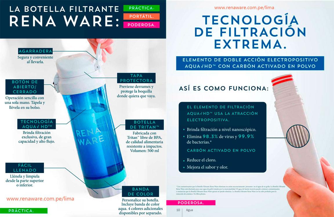 filtro de agua portatil bolsillo