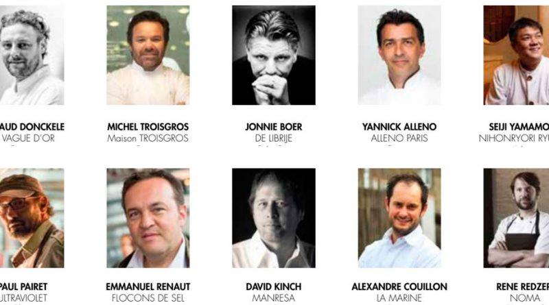 Los 10 mejores Chefs del mundo 2019