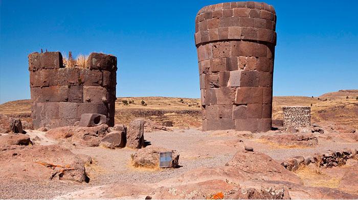 Lugares misteriosos en Perú, las Chulpas de Sillustani
