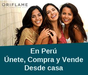 Unete a OriFlame en Peru
