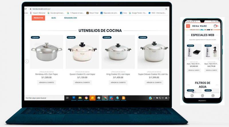 Nueva Tienda en línea en Perú