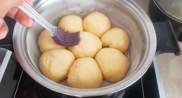 pan dulce sin horno