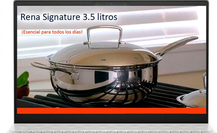 Rena Signature en Perú, un novedoso y versátil utensilio de acero