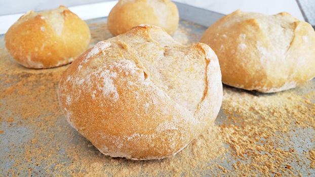 Como se hace pan en casa
