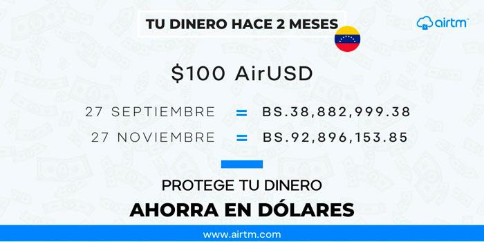Ahorrar dolares en Venezuela comprar dolares online venezuela