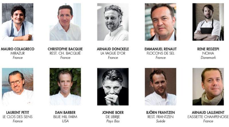 Los 10 mejores Chefs del mundo 2020