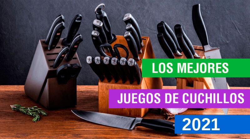 Los mejores juegos de cuchillos de cocina 2021