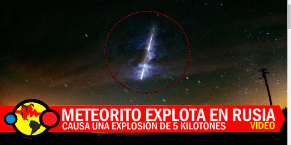 Noticias de Meteoritos