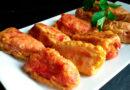 Receta de pimientos del piquillo rellenos con pollo